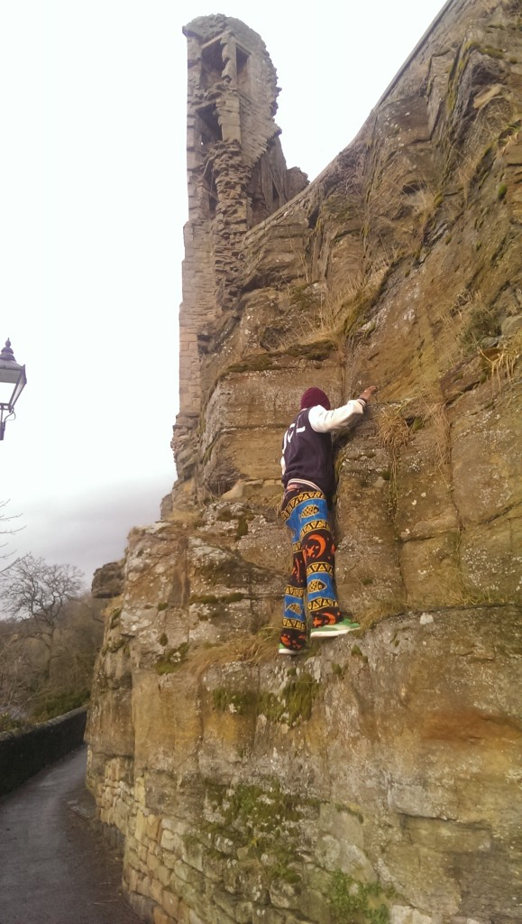 Fun Climbing at Barnard Castle by Alex Mattakathu